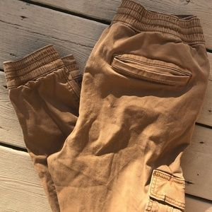 Hollister Advanced Stretch Khakl Joggers, XS, EUC